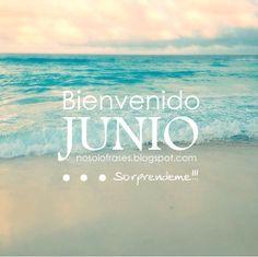 No Solo Frases: Bienvenido Junio... sorpréndeme!!!
