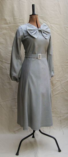 Vintage Reproduction 1930s 30s 40s 1935 Silver by GleaveGarments, £175.00