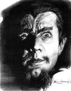 Basil Gogos illustration. White Zombie.