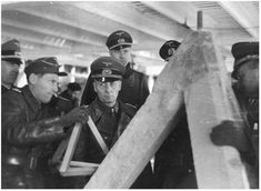 [Photo] Field Marshal Erwin Rommel inspecting the Atlantic Wall at Lorient, France, 19 Feb 1944 German Soldiers Ww2, German Army, Erwin Rommel, Normandy Invasion, Field Marshal, Afrika Korps, Pearl Harbor Attack, History Books, Personal Photo