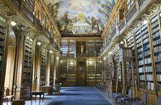 La bibliothèque de Strahov à Prague, République Tchèque © Creative commons