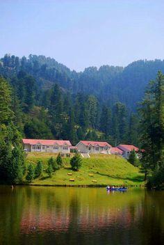 Banjosa lake, Rawlakot. Kashmir, Pakistan. My childhood memories ❤