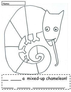 The Mixed-Up Chameleon: Camouflaged Chameleon Hunt | Chameleons ...