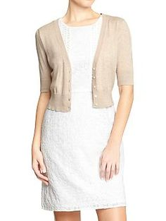 BRIDESMAIDS, order this cardigan for over your dress. it is on sale at Old Navy right now. Please do not wait!