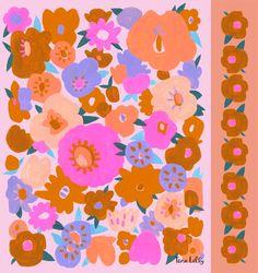 Pattern — Tara Lilly Art & Illustration - Trend Topic For You 2020 Pattern Illustration, Graphic Illustration, Illustrations, Abstract Pattern, Pattern Art, Flora Pattern, Textures Patterns, Print Patterns, Textiles