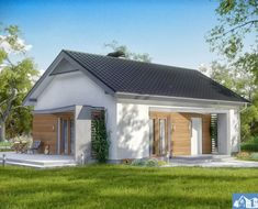 Home Design House + Plans Beautiful Small Homes, Beautiful House Plans, Affordable House Plans, Affordable Housing, House Plans With Photos, Small House Plans, Small Cottage Designs, Village House Design, One Story Homes