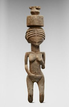 Africa | Female figure from the Sakalava people of Madagascar | Wood | 19th century | April 2013 Catalogue