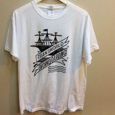 d39d7aaa2181 Transworld Snowboarding Shirt T-Shirt Jerzees Size Large Sailor Tattoo  Graphics
