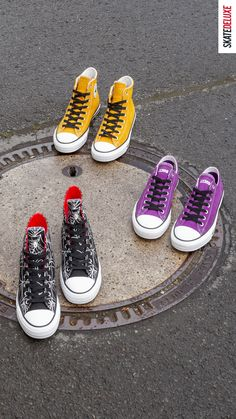 Shop the latest colorways of the Converse CONS CTA´s! Skate Shoe Brands, Skate Shoes, Converse Shop, Vans, New Skate, Shoe Releases, Film Aesthetic, Nike Sb, Chuck Taylor Sneakers