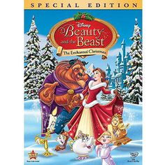 Beauty and the Beast: The Enchanted Christmas Special Edition DVD Brand new in sealed plastic! Celebrate the most magical time of the year withBeauty and the Beast: The Enchanted Christmas. Inspired by the Disney classic, this enchanting adventur. Disney Movies By Year, Disney Christmas Movies, Film Disney, Holiday Movies, Xmas Movies, Disney Wiki, Walt Disney Pictures, David Ogden Stiers, Citations Film