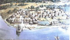Jamestown Landed in 1607 Sponsored by the London Company to make profits. First English settlement in the New World. The men faced famine disease and other dangers. Supplies and reinforcements came in 1610  http://historyisfun.org/Jamestown-Settlement.htm