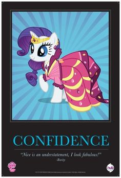 SDCC 2012 My Little Pony MLP Comic Con Repro Poster Rarity | eBay