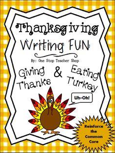 FREE Thanksgiving Writing Activity!