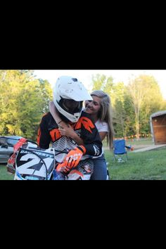 this is my goals if you cant ride then you are not worth it. Dirt Bike Couple, Motocross Couple, Biker Couple, Dirt Bike Girl, Relationship Goals Pictures, Couple Relationship, Relationships, Porsche, Audi