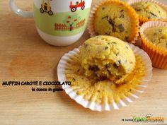 Muffin carote e cioccolato  #ricette #food #recipes