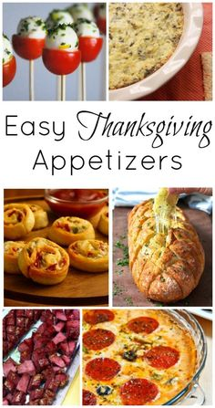 Thanksgiving: Course 1 – Easy Thanksgiving Appetizers