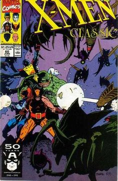 X-Men Classic # 60 by Mike Mignola