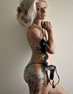 "What Old People With Tattoos Look Like for all the people who say ""you'll regret it when ur old"" This is cool :)"
