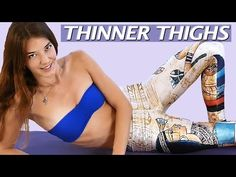 Outer Thigh Workout for Slim, Lean Legs! 20 Minute Beginners Fitness at Home - YouTube