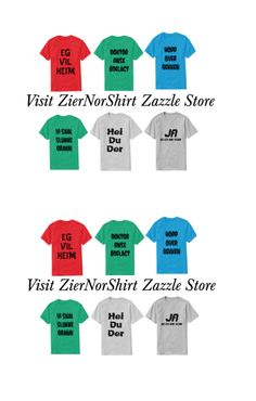 ZierNorShirt: Designs & Collections on Zazzle Types Of T Shirts, Funny Tshirts, Collection, Design, Asylum, Design Comics