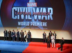 Captain America: Civil War World Premiere