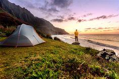 Camping Na Pali Coast (Hawaii)