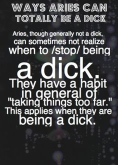 Aries male and capricorn female sexually