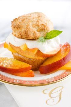Bobby's Lighter Peach Shortcake