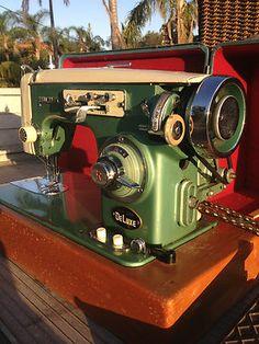 Hallmark Deluxe Sewing Machine | eBay