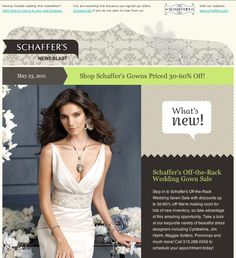 28 Fresh E-mail Newsletter Designs for Graphic Inspiration - DesignM.ag | Arrows for Steps