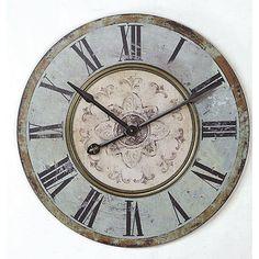 Found it at Joss & Main - Melody Round Oversized Wall Clock