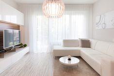 Monochromatic apartment in Bratislava - modern - Living Room - Other Metro - Goldfish-Interiors