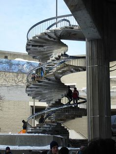 most beautiful spiral staircases Rideau canal, Ottawa Ottawa Canada, O Canada, Capital City, Most Beautiful, Sweet Home, Stairs, Spiral Staircases, Architecture, Building