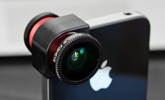 The olloclip $68 is a quick-connect lens solution for the iPhone 4/S that includes fisheye, wide-angle and macro lenses in one small, convenient package that easily fits in your pocket.