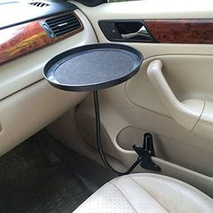 JETTING black pink white Car food tray folding dining table drink holder car pallet back seat water car cup holder Coffee Table Stand, Car Food, Cute Car Accessories, Camping Accessories, Car Buying Tips, Car Purchase, Car Essentials, Car Gadgets, Car Hacks