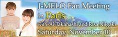 Takahashi Ai and Niigaki Risa to hold fan meeting in Paris