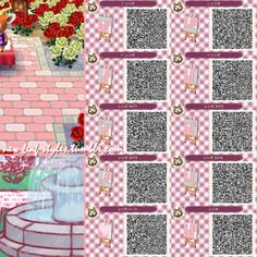 Animal Crossing: New Leaf QR Code Paths Pattern, new-leaf-styles ...