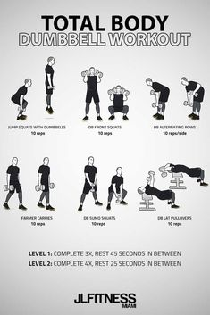 dumbbell workout Visual Workouts For Everyone Dumbbell Workout Routine, Full Body Dumbbell Workout, Amrap Workout, Strength Workout, Workout Challenge, Gym Workouts, At Home Workouts, Body Pump Workout, Full Body Workout At Home