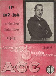 La Coruña : A.C.G., [1932]- Club, Cover, Books, Journals, Autos, Libros, Book, Book Illustrations, Libri