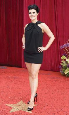 Susannah Reid, Zoe Mclellan, Emmerdale Actors, Kym Marsh, Buxom Beauties, Vinyl Dress, American Dress, Sexy Legs And Heels, Great Legs