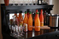 baby shower mimosa bar