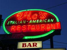 Bradley Beach, NJ Vic's Italian-American Restaurant | by army.arch