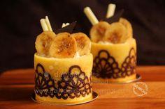 dailydelicious: January 2011 Daring Bakers' Challenge #48: Joconde Imprime Entremets, Chocolate Banana