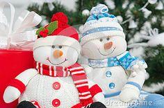 Handmade Snowmen
