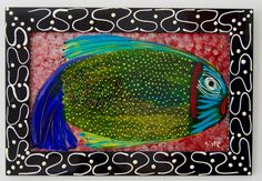 """Items similar to Painting-""""Artsy Fartsy Fish"""" on Etsy Glass Building, My Glass, Zoology, Three Dimensional, Artsy Fartsy, Give It To Me, Fish, Cool Stuff, Canvas"""