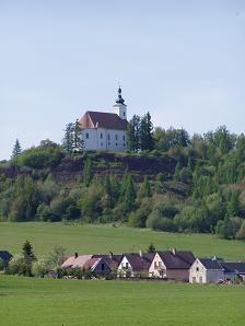 Uhlířský vrch a sopky na Bruntálsku