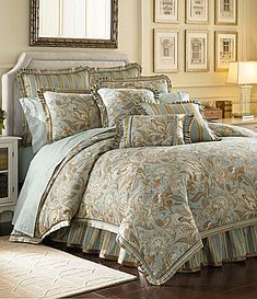 J Queen New York Barcelona Bedding Collection #Dillards  for the new house :)