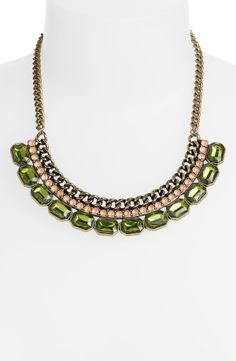 Carole Chain Statement Necklace by debbie.rose.37