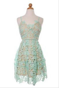 Bethany Lace Mint Dress | Mason & Ivy | Mint Dresses