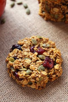 Pumpkin-Cranberry-Breakfast-Cookies
